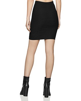 BCBGENERATION - Ribbed Body-Con Skirt