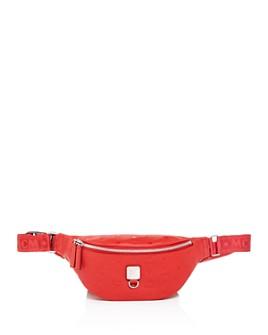 MCM - Fursten Small Monogram Leather Belt Bag