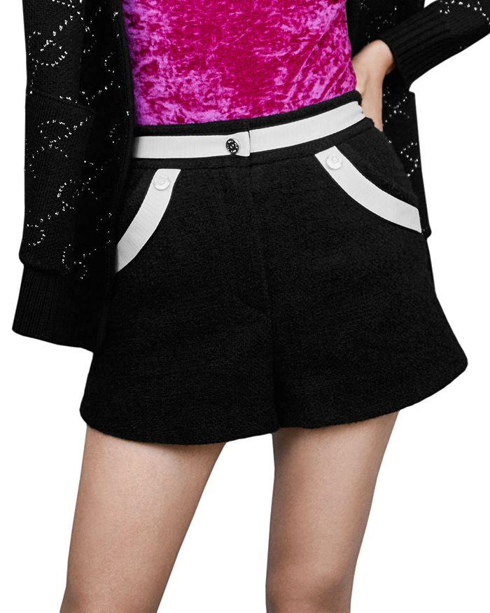 Maje - Ilian Tweed Shorts