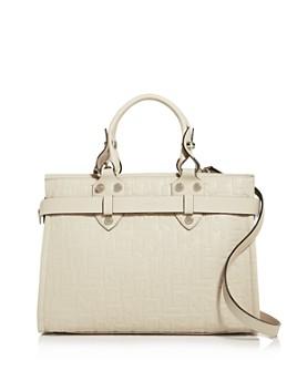 Longchamp - La Voyaguese Large Leather Satchel
