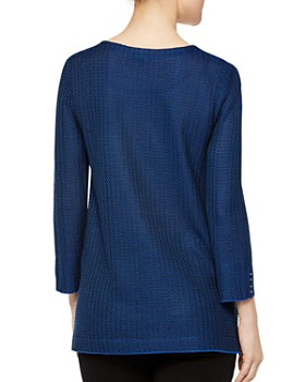 Misook - Embellished Knit Tunic Top