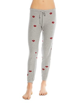 CHASER - Lips Print Sweatpants