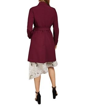 Ted Baker - Beauy Double-Breasted Belted Coat