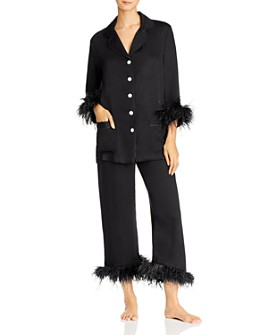 Sleeper - Feather-Trim Pajama Set - 100% Exclusive