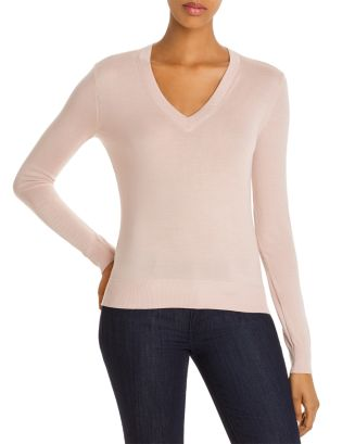 wool-v-neck-top by theory