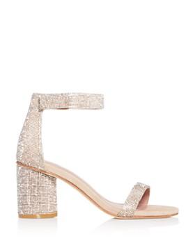 Jeffrey Campbell - Women's Laura-JS Embellished Block-Heel Sandals