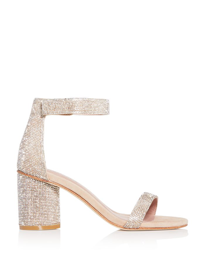 Jeffrey Campbell Laura-JS Suede Sandal Champagne Nude