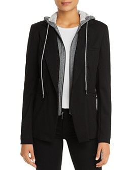 Bagatelle - Layered-Look Hoodie Blazer