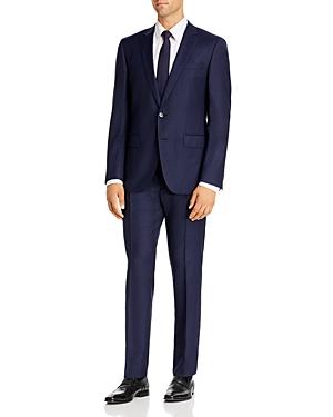 Boss Huge/Genius Tonal Windowpane Slim Fit Suit
