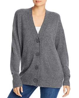Equipment - Cashmere Button-Front Elder Cardigan