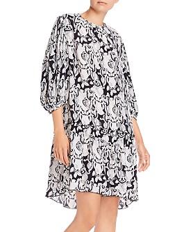 See by Chloé - Balloon-Sleeve Printed Shift Dress
