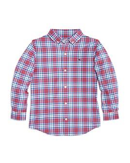 Vineyard Vines - Boys' Checkered Performance Shirt - Little Kid, Big Kid