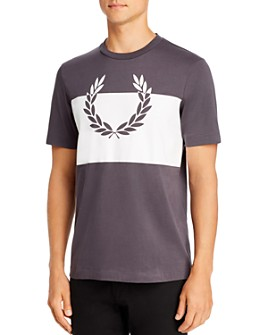 Fred Perry - Printed Laurel Wreath Graphic Tee