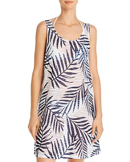 J. Valdi - Lattice Back Dress Swim Cover-Up