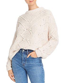 AQUA - Popcorn Chenille Sweater - 100% Exclusive