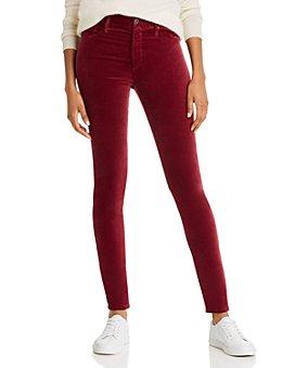 AG - Farrah Skinny Velvet Jeans - 100% Exclusive