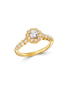 Bloomingdale's - Diamond Engagement Ring in 14K Yellow Gold, 0.75 ct. t.w. - 100% Exclusive