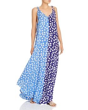 Studio One Eighty Nine - Sing Polka Dot Silk Maxi Dress