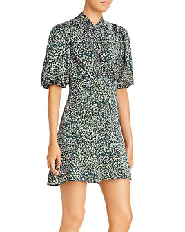 kate spade new york - Flair Flora Devore Mini Dress