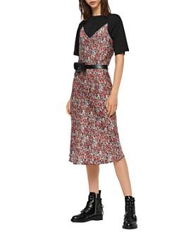 ALLSAINTS - Hennie Wilde Two-Piece Slip Dress
