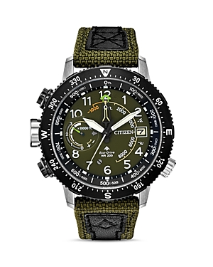 Citizen Promaster Altichron Khaki Strap Watch, 47mm