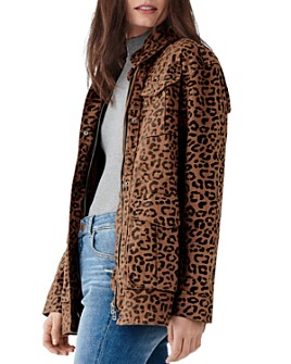 DL1961 - Howard St. Leopard Print Utility Jacket
