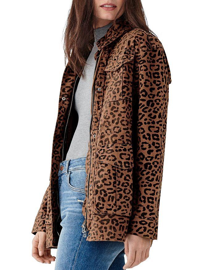 DL1961 - Howard St. Leopard Print Utility Jacket
