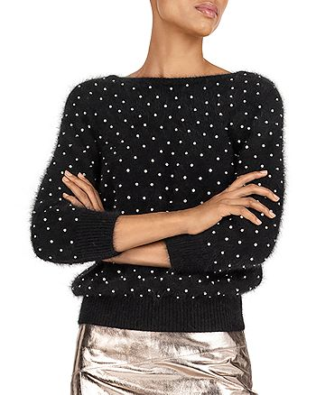 ba&sh - Amby Embellished Sweater