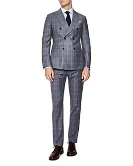 REISS - Glover Flannel Slim Fit Suit