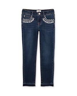 Hudson - Girls' Adeline Rhinestone Skinny Jeans - Little Kid