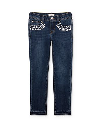Hudson - Girls' Adeline Rhinestone Skinny Jeans - Big Kid