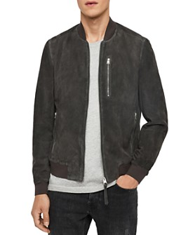 ALLSAINTS - Kemble Suede Slim Fit  Bomber Jacket