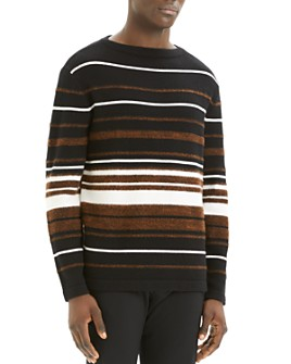 Theory - Hilles Striped Crewneck Sweater