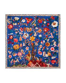 Salvatore Ferragamo - Tree Of Life Silk Scarf