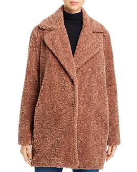 Capote - Mid-Length Teddy Coat