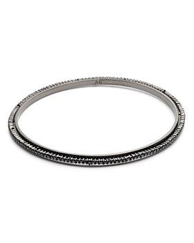 Alexis Bittar - Crystal Encrusted Spiked Bangle Bracelet