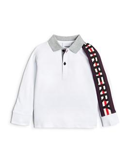 Burberry - Boys' Duncan Long-Sleeve Polo Shirt - Little Kid, Big Kid