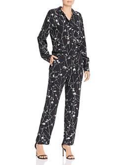 rag & bone - Therese Floral Print Jumpsuit