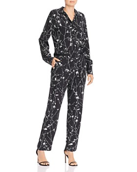 rag & bone - Therese Floral Print Jumpsuit