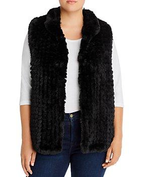 AQUA Curve - Faux Fur Vest - 100% Exclusive