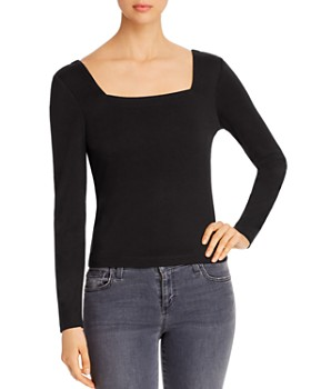 Marled - Square-Neck Top