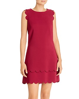 Betsey Johnson - Scalloped Shift Dress
