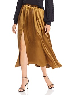 Joie - Duffy Satin Midi Skirt