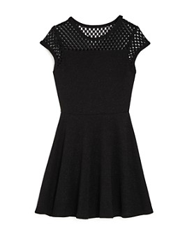 Sally Miller - Girls' Zoey Mesh Lace Sparkle Dress - Big Kid
