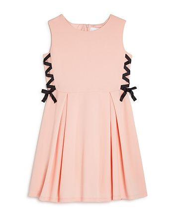 BCBG GIRLS - Girls' Lace-Up Fit-and-Flare Dress - Big Kid