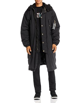 Versace Jeans Couture - Teddy-Lined Nylon Regular Fit Parka
