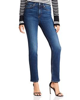 rag & bone - Nina High-Rise Cigarette Jeans in Carla