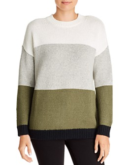 Velvet by Graham & Spencer - Alessia Color-Block Sweater - 100% Exclusive