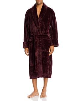 Daniel Buchler - Plaid Jacquard Lounge Robe