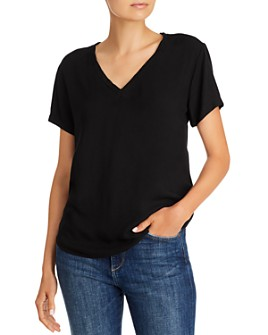 Bella Dahl - V-Neck High/Low Tee